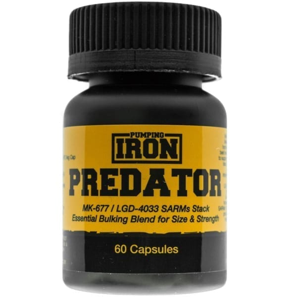 Pumping iron predator