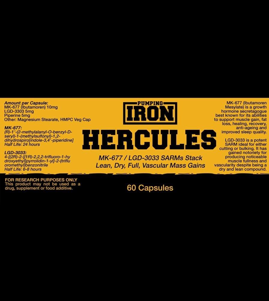 Pumping Iron Hercules