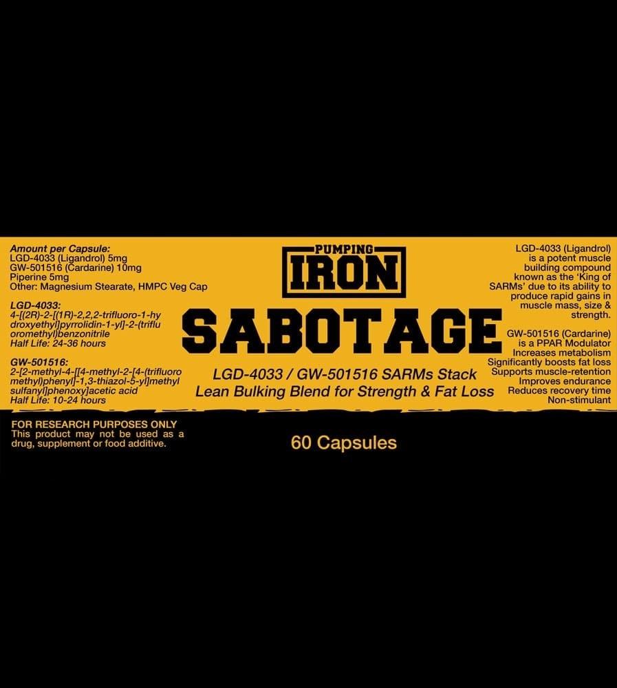 Pumping Iron Sabotage