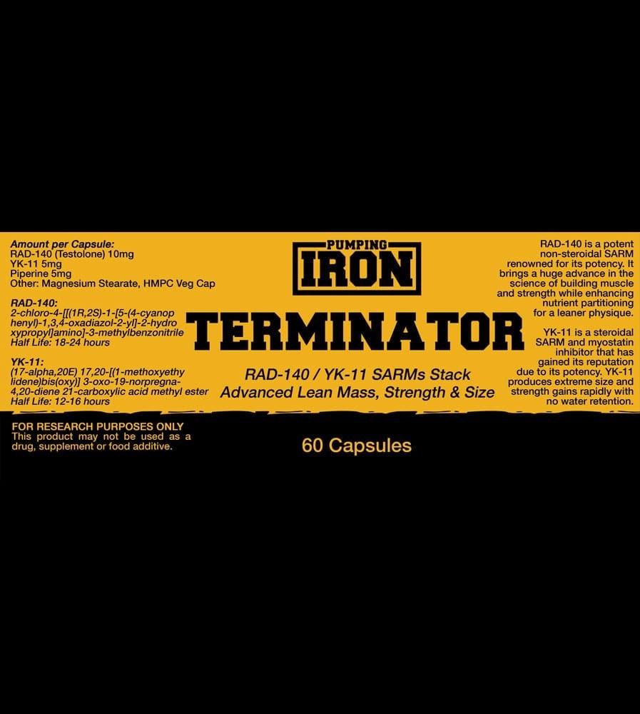 Pumping Iron Terminator