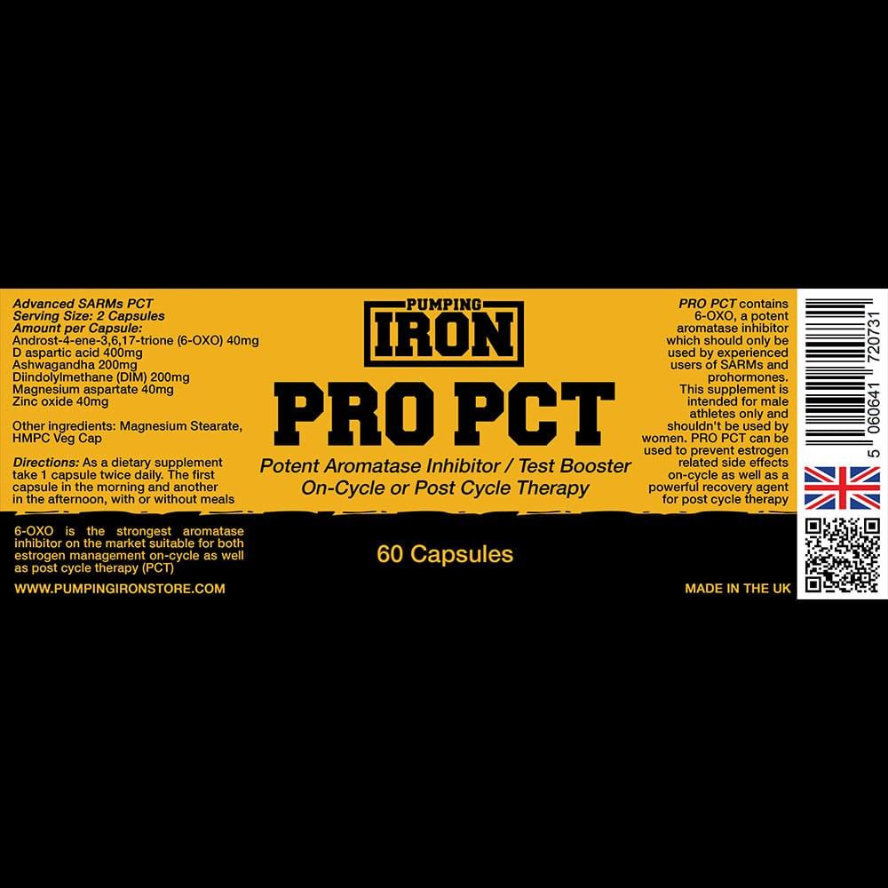 Pumping Iron - Pro PCT Label
