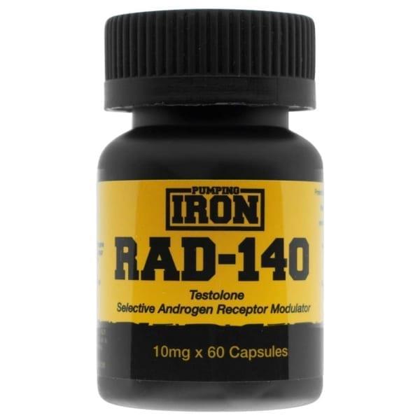 pumping iron Rad-140