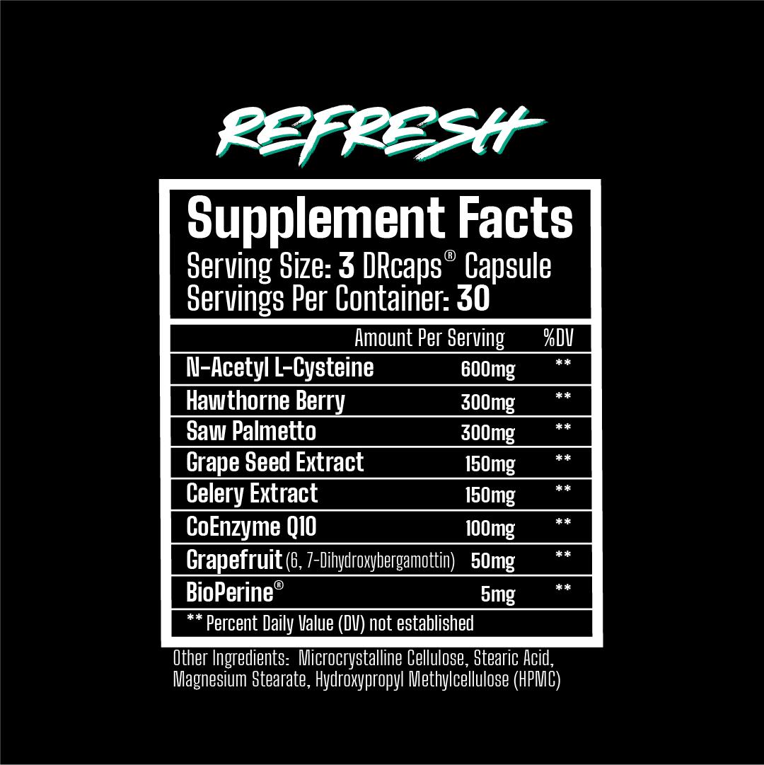 Musclee Rage Refresh label
