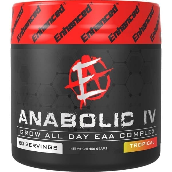 Enhanced Athlete - Anabolic IV label