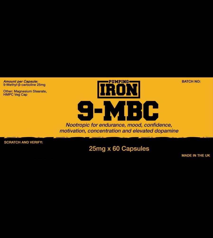 Pumping Iron - 9-BMC Label